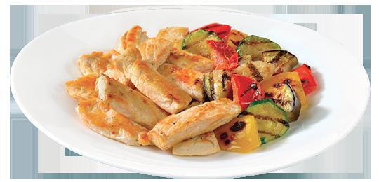 Tagliata-di-pollo-con-verdure